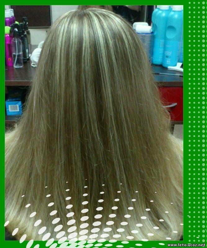 Тонирование волос пошаговое