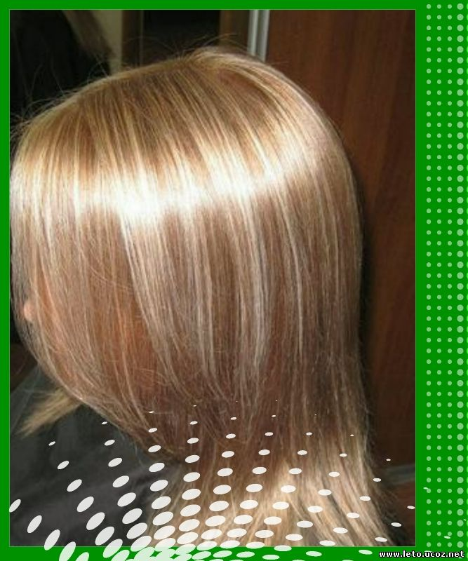 Как сделать мелирование на окрашенных волосах 871
